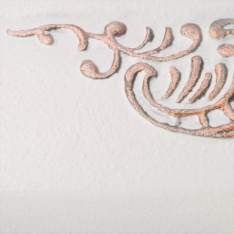White Soft [eksponowany ornament - Copper]